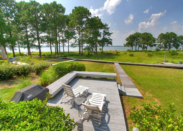 Sundeck - 9 Lands End Road -  4 Bedrooms & Waterfront (Calibogue Sound Views). - Hilton Head - rentals