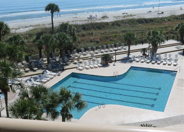 View - 1502 Villamare - 5th Floor & Beautiful Pool/Oceanviews - Book Now for Aug. - Hilton Head - rentals