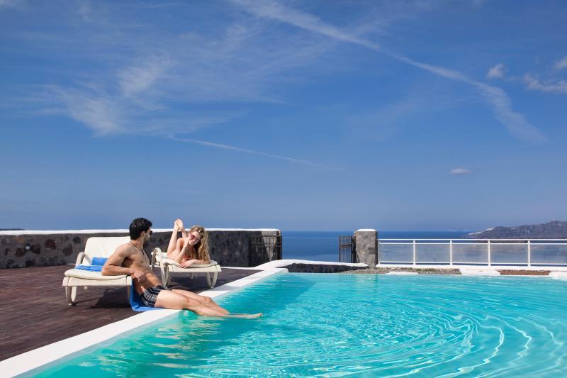 Dimitra - Superbly overlooking the famous caldera - Image 1 - Santorini - rentals