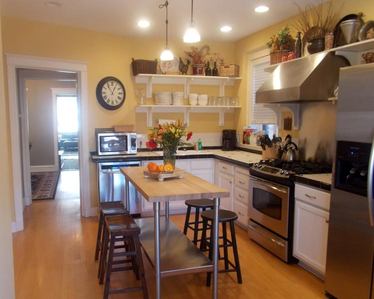 Fully Equipped Kitchen 1st Floor - Teri's Chicago Guest House on Newport Avenue - Chicago - rentals