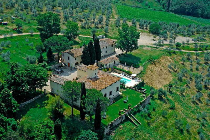 Villa Belvedere - Camera Doppia Classic - Image 1 - Montefiridolfi - rentals