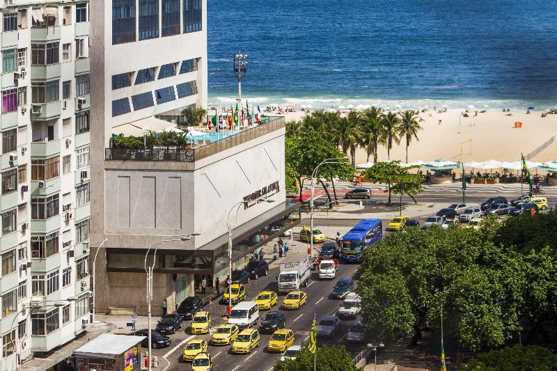 View from the apartment - Ocean View 3 Suites Private Baths Copacabana Beach - Rio de Janeiro - rentals