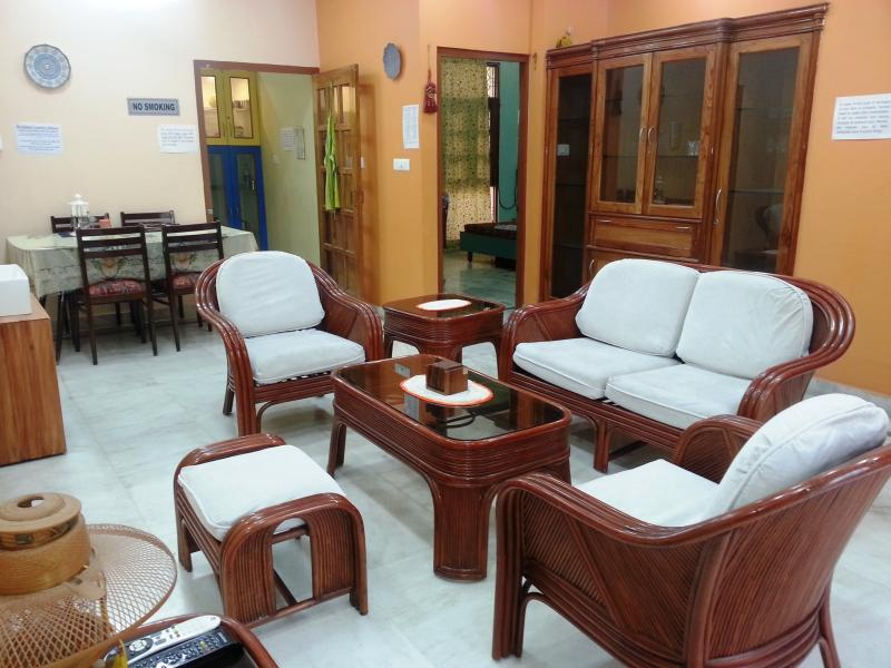 """Lobby - Executive Suite """"2BHK Serviced Apartment"""" for 4 guests in Lucknow India - Lucknow - rentals"""