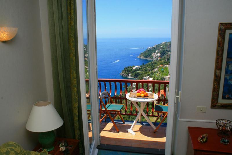 Lone new house car parking sea view Amalfi coast - Image 1 - Amalfi - rentals