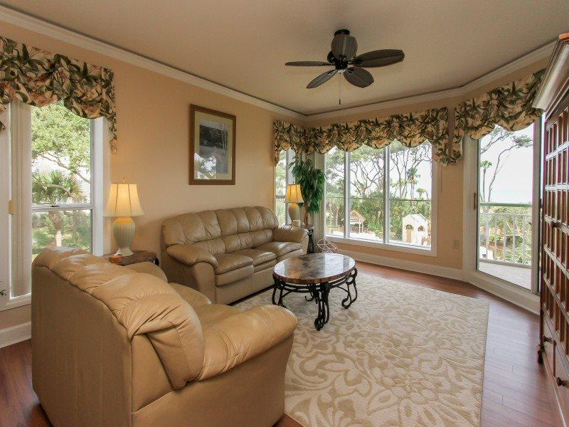 Living Room at 211 Windsor Place - 211 Windsor Place - Palmetto Dunes - rentals