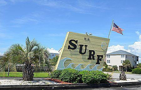 Surf Entrance - Surf Condos 223, 918 N New River Dr, Surf City, NC, Ocean View, SAVE UP TO $70!! - Surf City - rentals
