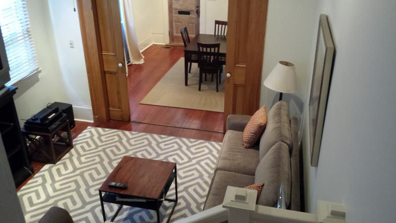 Living Room-Dining Room - 2 BR Vict. House - Uptown NOLA-15% off - New Orleans - rentals