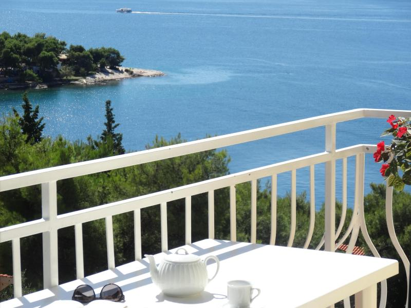 Private Balcony with grate sea view! Trogir    A3 - Image 1 - Trogir - rentals