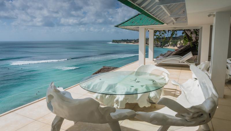 Morabito Art Cliff Bingin Terrasse view - MORABITO ART CLIFF 3 Bed villa Bingin Uluwatu Bali - Bali - rentals
