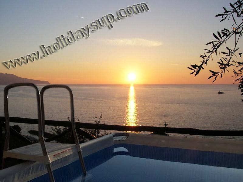 Amazing villa ith private pool, large terrace with pizza oven, isle of capri view in sorrento coast - Amazing Villa with Isle Capri/Ocean view and pool - Sorrento - rentals