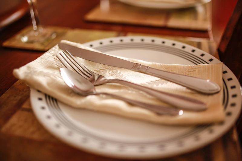 Place settings to welcome six - Near Downtown - Near Airport  Unit 2 - Saint John's - rentals