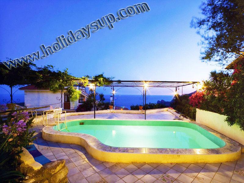 Villa Carlotta sorrento coast with private swimming pool, solarium and ocean view relax holidays up - Villa Carlotta,with private pool in Sorrento Coast - Sorrento - rentals