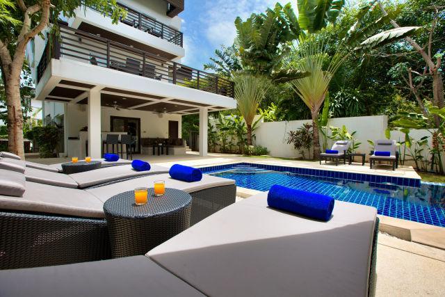 Day time - A Dazzling Villa close to choeng Mon beach - Choeng Mon - rentals