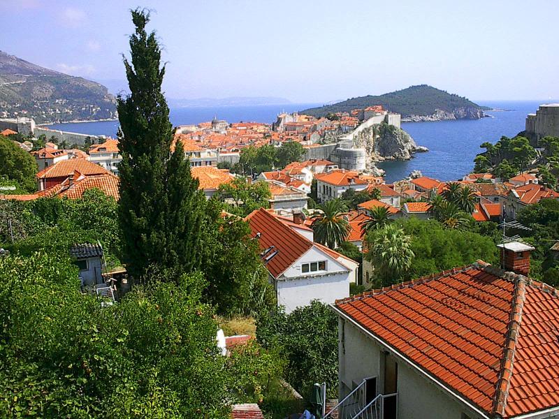 Panoramic view from AP1 - Apartment Kono  AP1 - panoramic view - 1-4 people - Dubrovnik - rentals