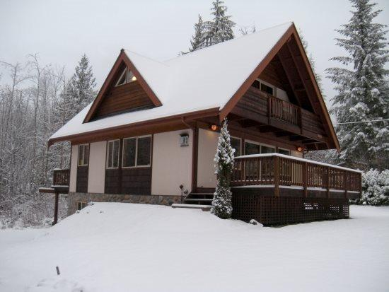 The front of Cabin 54 - Mt Baker Rim #54 New cabin close to skiing and hiking. (Sorry this property is not Pet Friendly) - Glacier - rentals