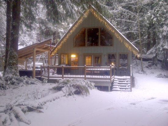 Mt. Baker Rim Cabin #99 - Charming Woodsy Cabin with a hot tub and Wi-Fi - Image 1 - Glacier - rentals