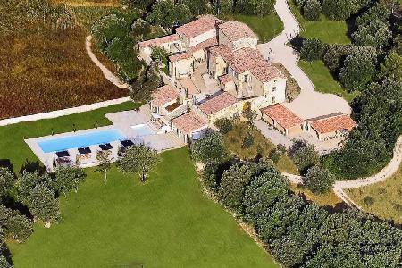 A Provencal Masterpiece! Villa Les Cavaliers features Saltwater Pools, Tennis Court & more! - Image 1 - Saint Privat Des Vieux - rentals