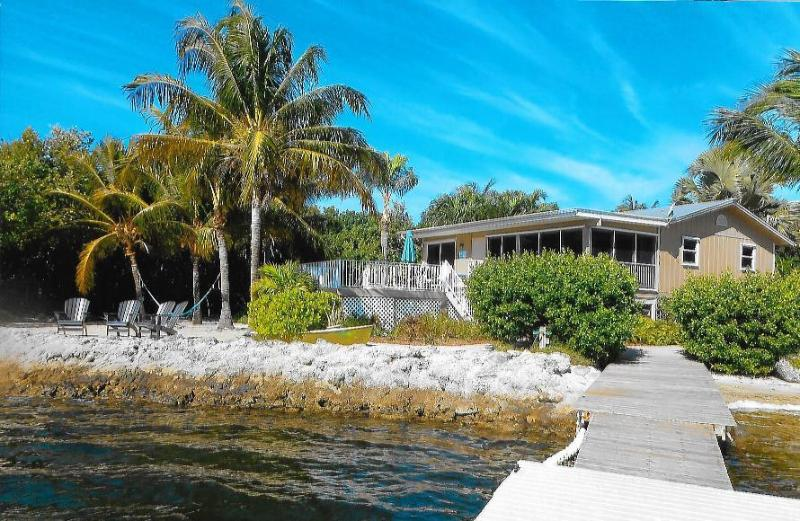 Tropical Paradise Oceanfront Home with Pool - Image 1 - Cudjoe Key - rentals