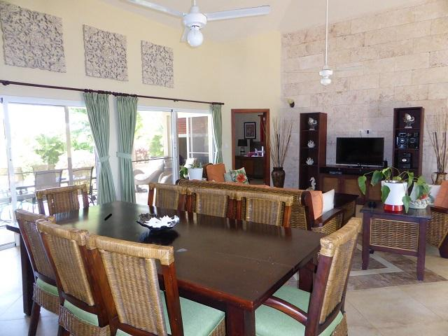 Large 3BDR with Palapa BBQ area and Pool! Ecoserve water purifier system installed(634) - Image 1 - Sosua - rentals