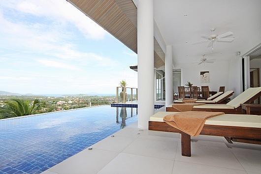 Villa Alangkarn Andaman - 5 Bed - Infinity Pool with Incredible View - Image 1 - Kata - rentals