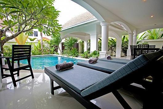 Na Jomtien Grande Pool Villa - Image 1 - Sattahip - rentals