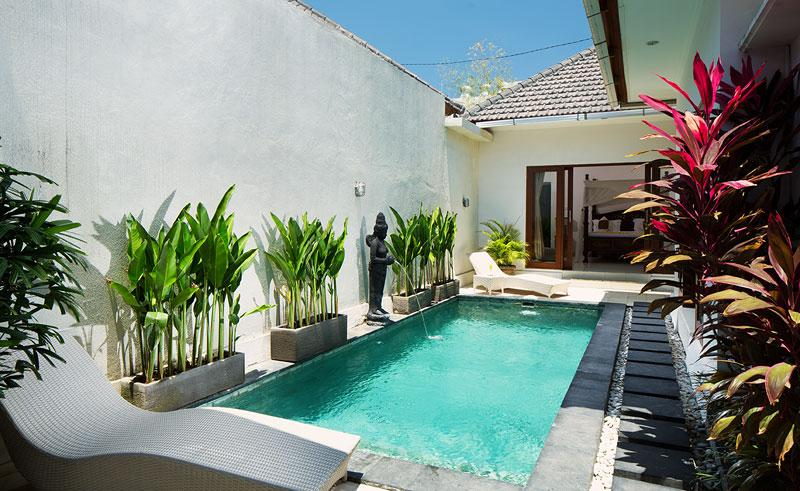 Private Pool - 1BR private villa,15 min walk to Seminyak beach - Seminyak - rentals