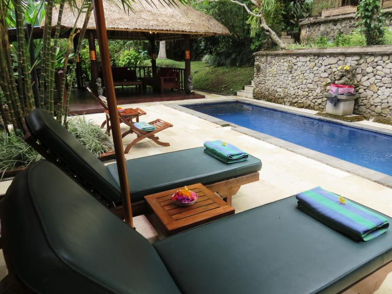 Bliss in central Ubud - Gorgeous! Villa Teras Sungai 2 bdrm Ubud Center - Ubud - rentals