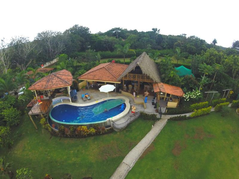 Air view - Exclusive Ocean view Eco Tourism Vacation Home - Esparza - rentals