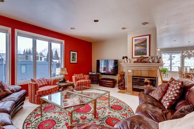 Brighton Chalet Main Level Living Area - Brighton Chalet at Alta - Alta - rentals
