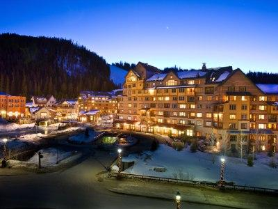 Evening at Zephyr - Zephyr: Ski-in/Ski-Out 1-bedroom condo in the heart of Winter Park Resort. - Winter Park - rentals