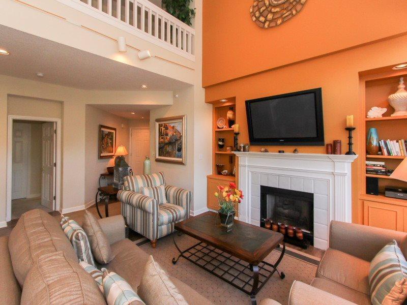 Living Area at 7643 Huntington in Palmetto Dunes - 7643 Huntington - Hilton Head - rentals