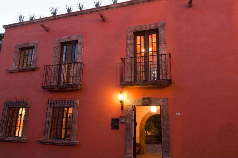 Facade - Casa Francisco - Colonial in Historic Center - San Miguel de Allende - rentals