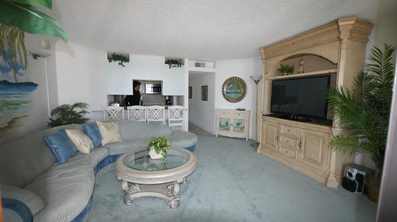 Ocean Front Living Room with 51