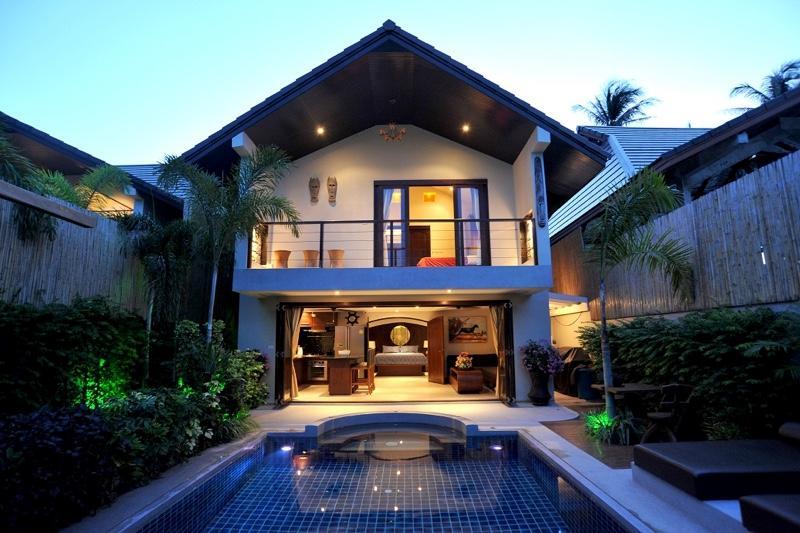Villa Tawan exterior - Beachside Luxury Pool Villas - Koh Samui - rentals
