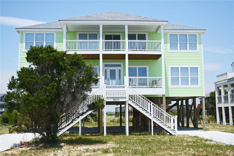 Bahama Mama 6620 West Beach Drive - Image 1 - Oak Island - rentals