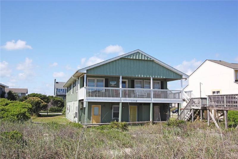 Beach Barracks 5713 West Beach Drive - Image 1 - Oak Island - rentals