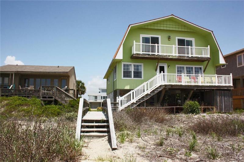 Breezy Oaks 6027 West Beach Drive - Image 1 - Oak Island - rentals