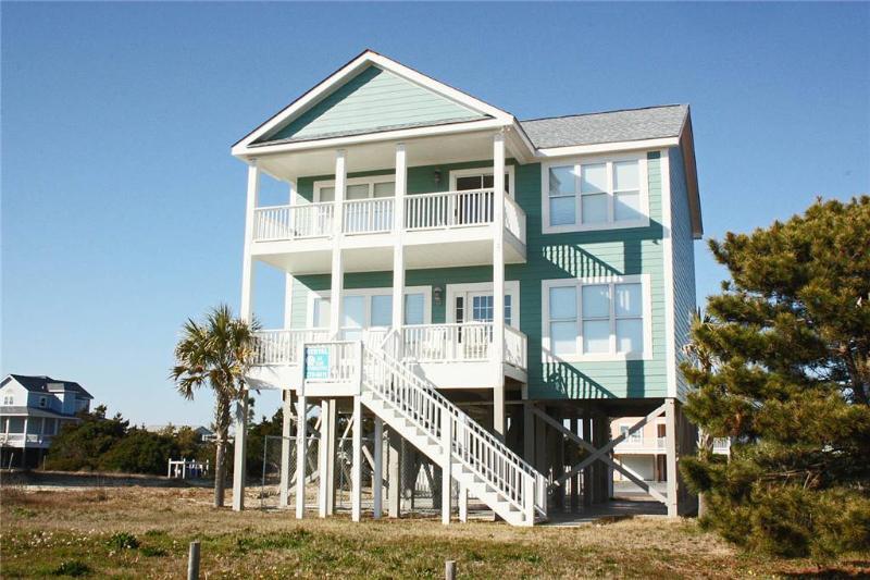 Don't Worry Beach Happy 3316 West Beach Drive - Image 1 - Oak Island - rentals