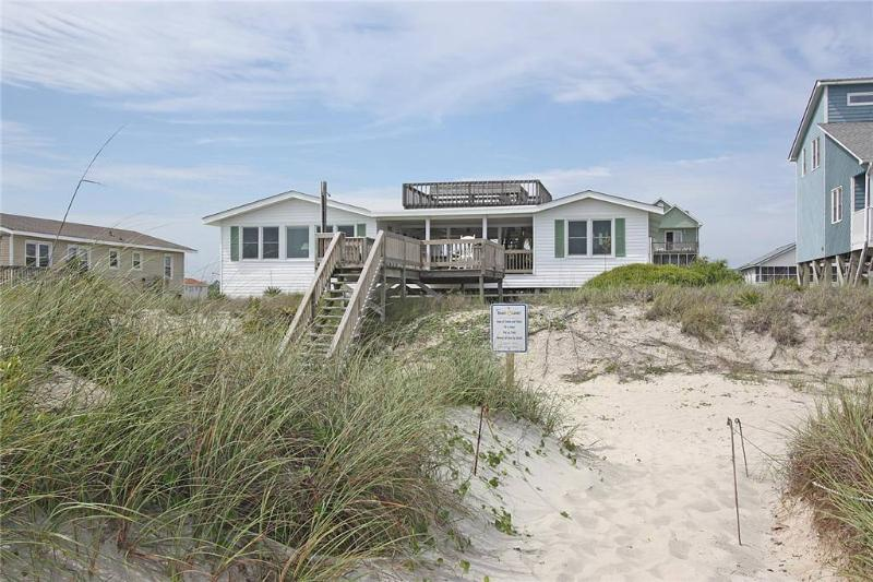Double Exposure 3021 West Beach Drive - Image 1 - Oak Island - rentals