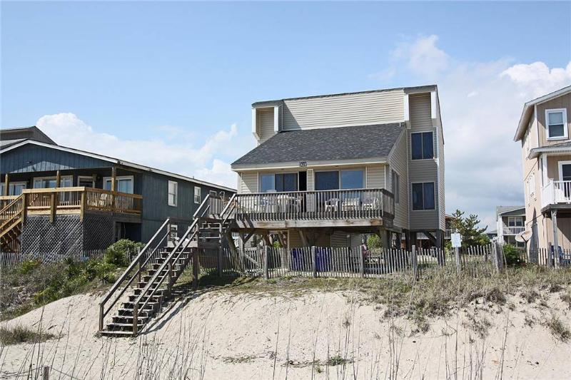 Double T by the Sea 3909 West Beach Drive - Image 1 - Oak Island - rentals