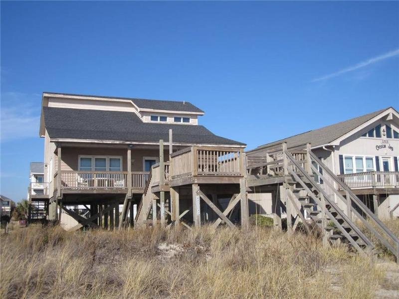 Front Row 1725 West Beach Drive - Image 1 - Oak Island - rentals