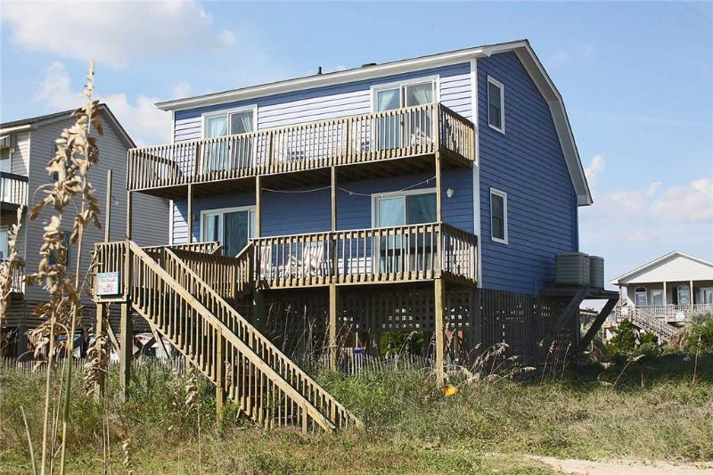 Mead Us At The Beach 4329 East Beach Drive - Image 1 - Oak Island - rentals