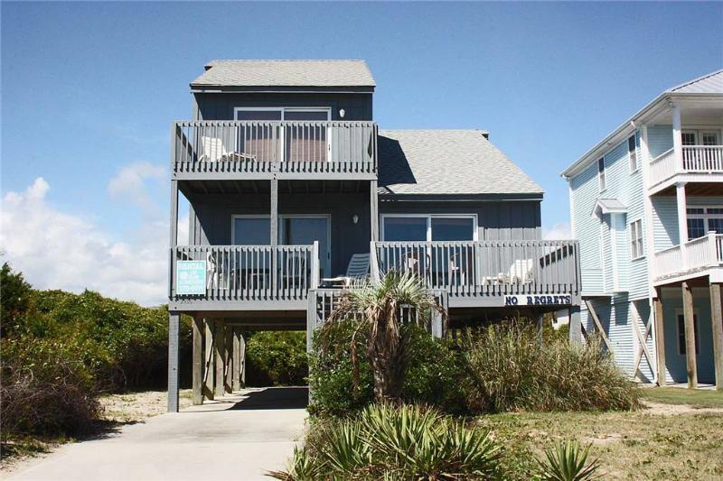 No Regrets 2908 East Beach Drive - Image 1 - Oak Island - rentals