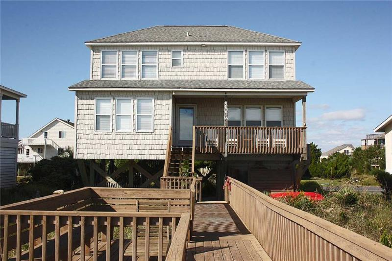 Nothin Could Be Finer  6607 West Beach Drive - Image 1 - Oak Island - rentals