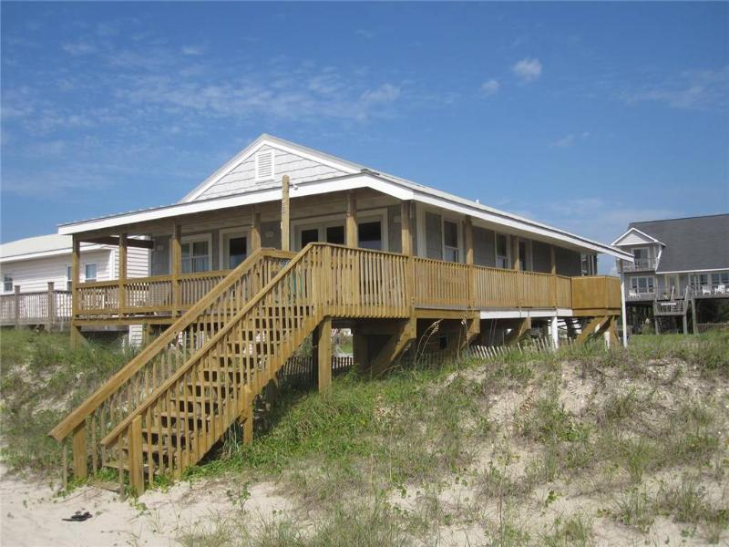 On Holiday  609 East Beach Drive - Image 1 - Oak Island - rentals