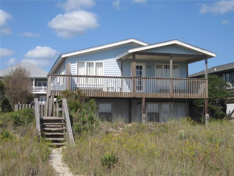 Rebel's Roost  6317 West Beach Drive - Image 1 - Oak Island - rentals
