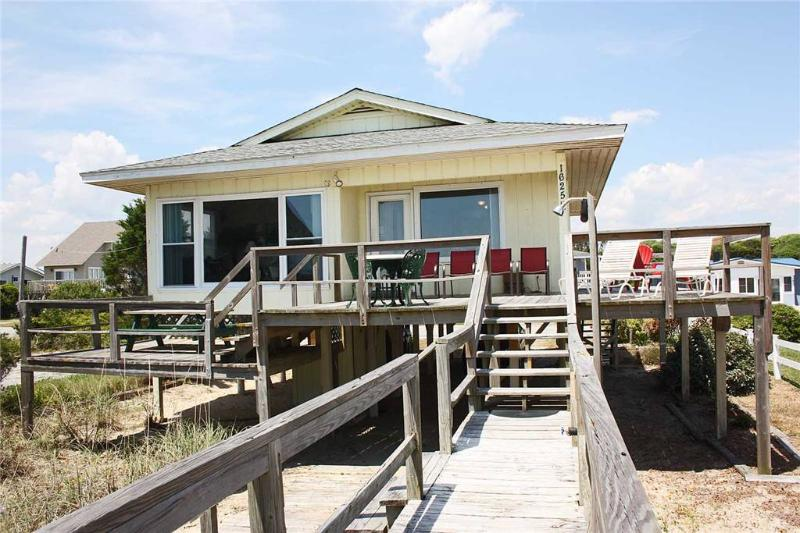Sea Sage  1625 East Beach Drive - Image 1 - Oak Island - rentals