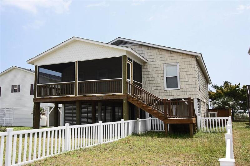 See the Sea 2618 East Beach Drive - Image 1 - Oak Island - rentals