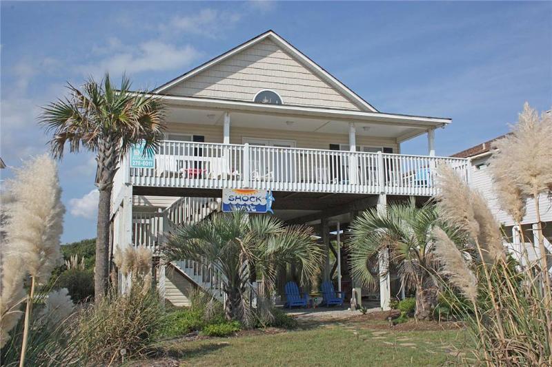 Shock Wave 522 West Beach Drive - Image 1 - Oak Island - rentals