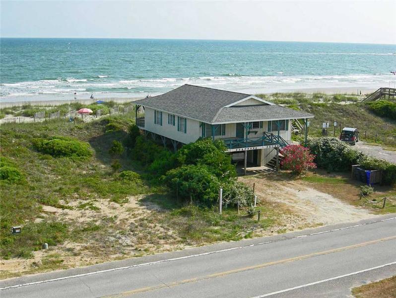 Surfsong  2529 West Beach Drive - Image 1 - Oak Island - rentals